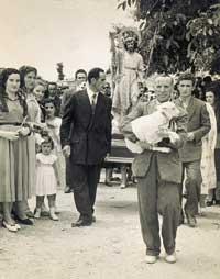 Procesión en honor a San Juan