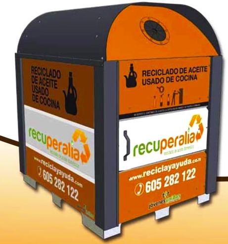 Imagen contenedor aceite usado