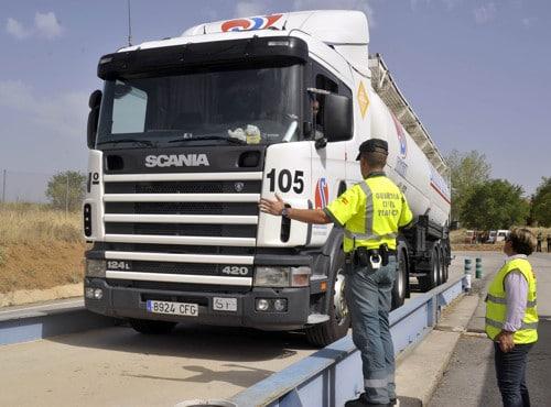 Visita del Consejero de Transportes 2012