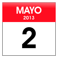 dia 2 de mayo