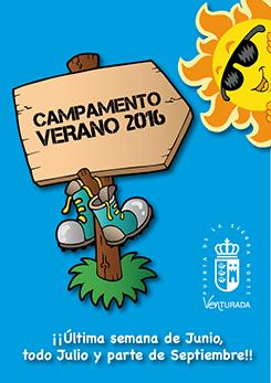 Cartel Campamento 2016
