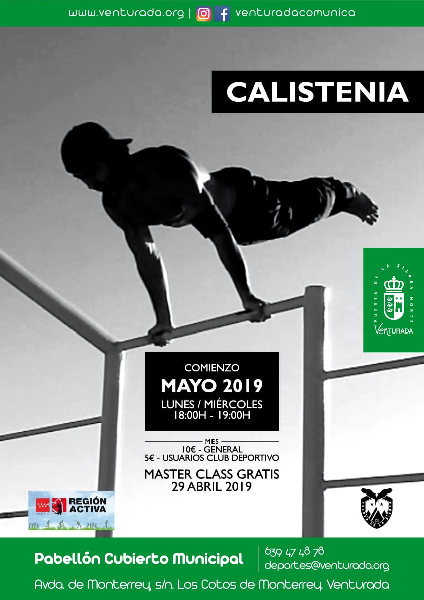 Cartel Calistenia
