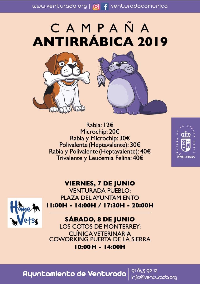 Campana Antirrabica 2019